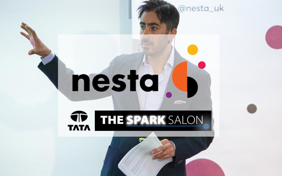 Swae CEO speaks at Nesta London | Tata Spark Salon
