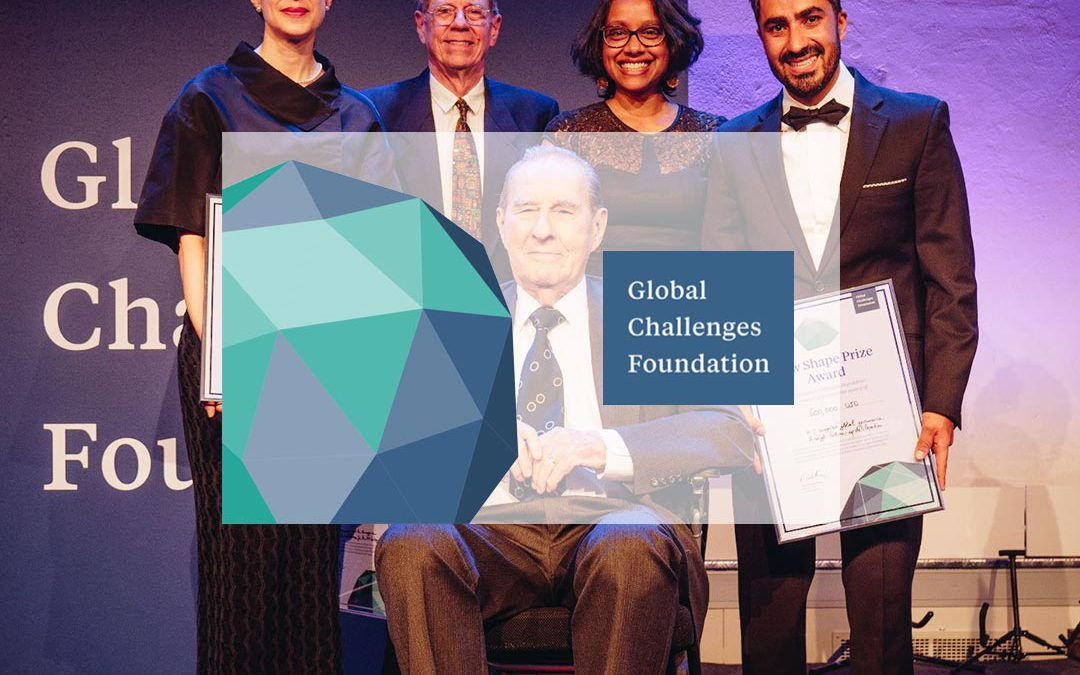 Swae wins Global Challenges New Shape Prize