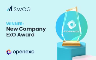 Swae Wins Top Award at 2021 ExO Transformation Awards